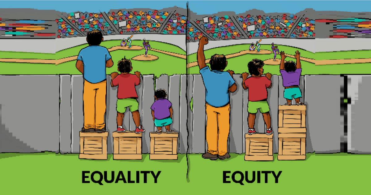 Equality or Equity?